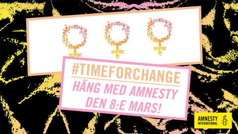 Sverige: Internationella kvinnodagen - bättre våldtäktsutredningar krävs