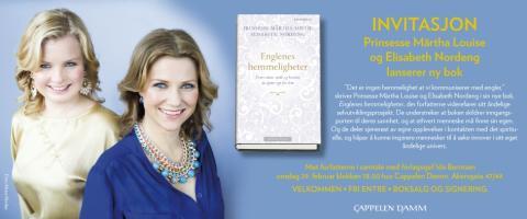 Prinsesse Märtha Louise og Elisabeth Nordeng lanserer sin nye bok