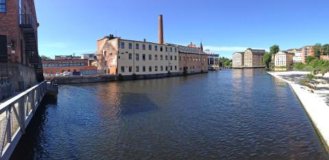 Norrköpings industrilandskap utvecklas