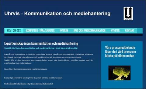 Kommunikation och mediehantering - Uhrvis
