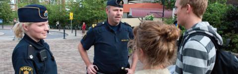 Medborgardialog och trygghetsvandring i Kimstad