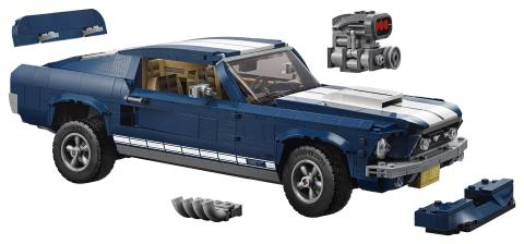 1967 Ford Mustang Lego-Bausatz