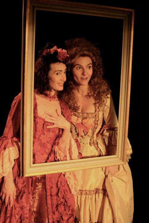 Kärlekens ljuva plåga... Tesalong med teater