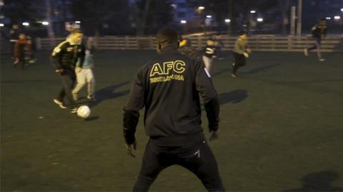 AFC Eskilstuna och banken i samarbete för att ge unga positiva förebilder