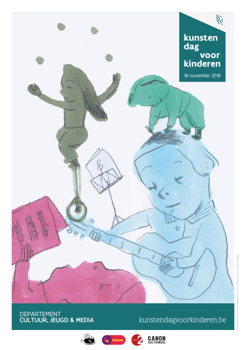 Zondag 18 november 2018: Kunstendag voor Kinderen