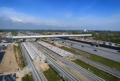 Nu kör tågen på Danmarks nya höghastighetsjärnväg!