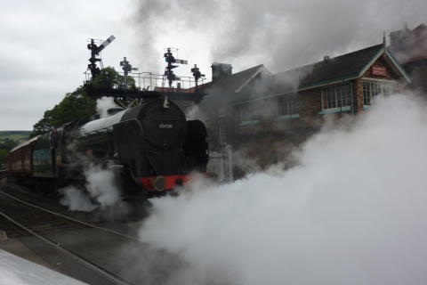 No. 5. Steam locomotives and ships