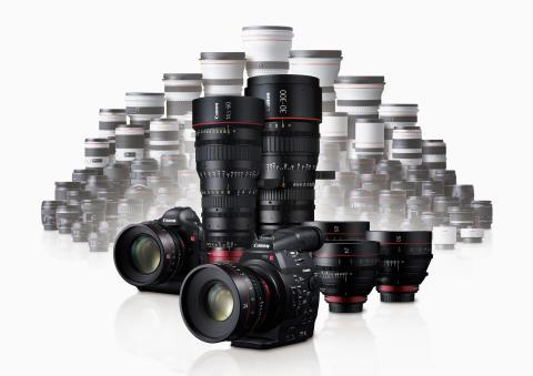 I Canons nya Cinema EOS System spelas huvudrollen av EF-filmobjektiv - Ny objektivserie debuterar med sju modeller och mer väntar i kulisserna
