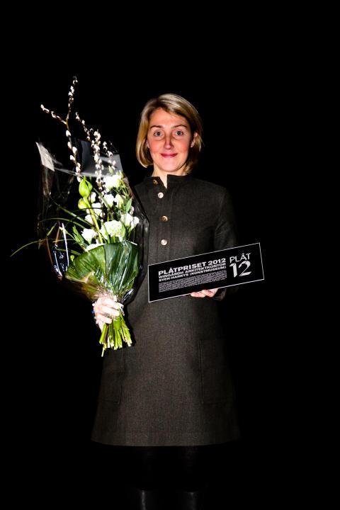 Plåtpriset 2012 Anna Höglund