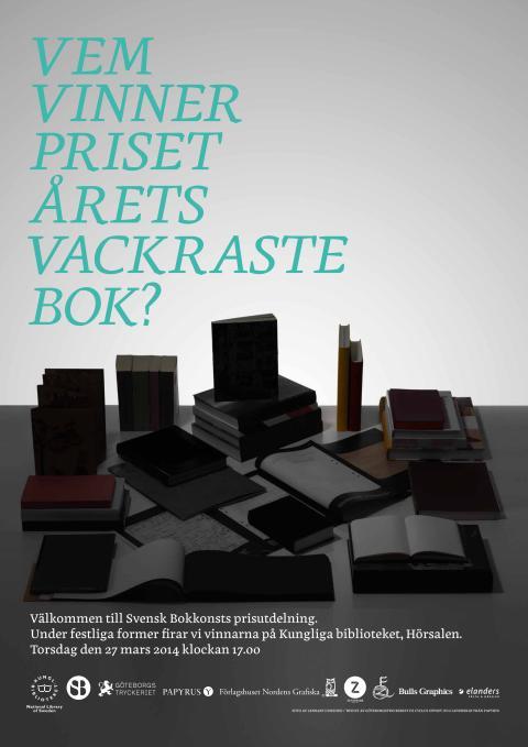 Affisch Svensk Bokkonst