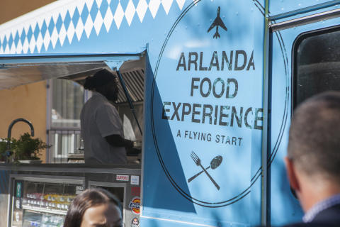Arlanda's Food Truck offers Stockholmers culinary experiences