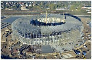 Polens nya EM-stadium byggd med hjälp av Teklas BIM-programvara