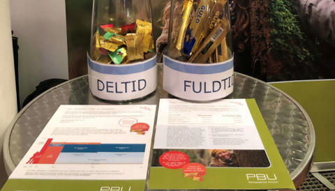 Stor interesse for budskaber om deltid og fleksibel pension