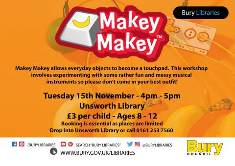 Wakey wakey – it's time for Makey Makey!