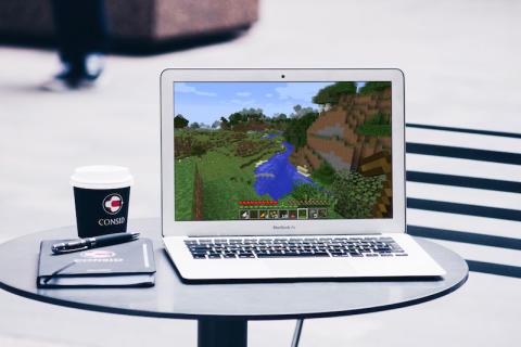 Minecraft Day på Consid i Malmö
