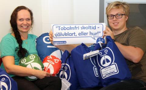 Carina Hesse Bolin och Björn Grundström, Hälsoäventyret, visar Figges resa