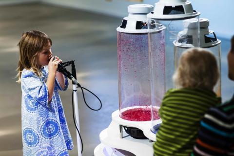 Uruppförande av sista delen i musikprojektet Voices of Umeå!