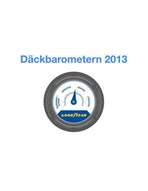 Goodyears Däckbarometer 2013