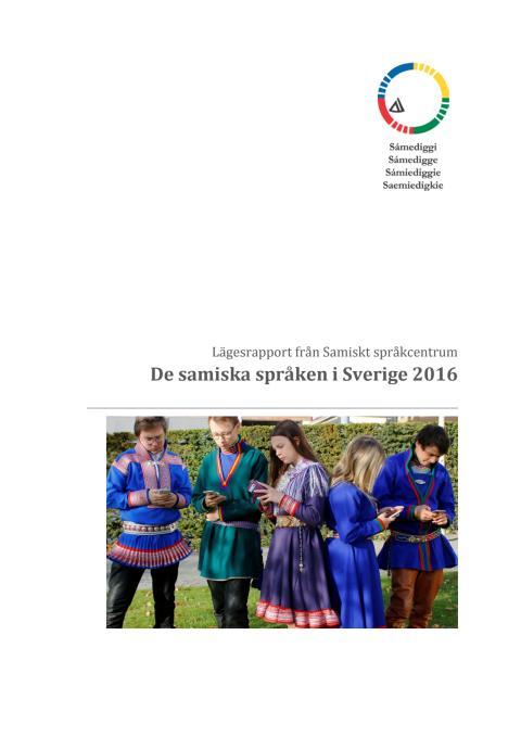 Lägesrapport från Samiskt språkcentrum