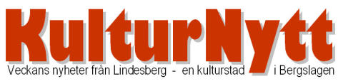 Kulturnytt från Lindesberg 23 maj 2014