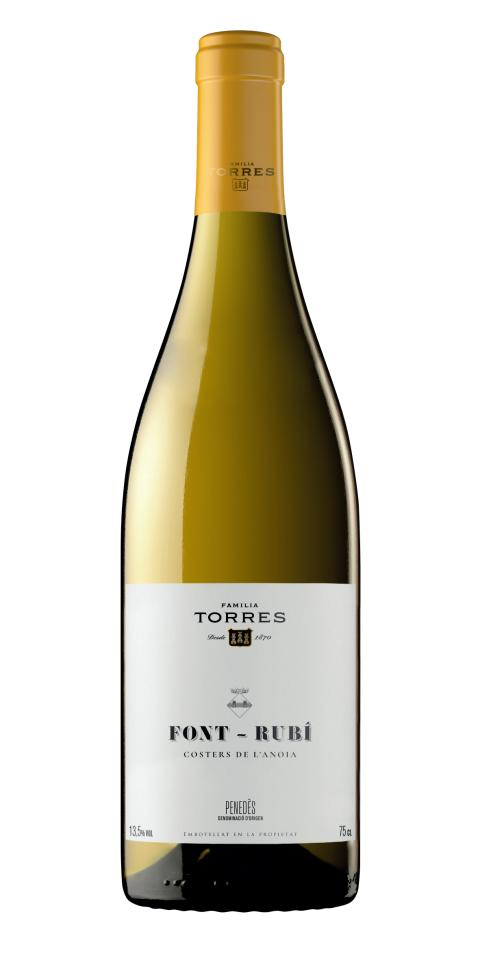 Nytt bybetecknat vin från Miguel Torres - Torres Font-Rubì Xarel-lo
