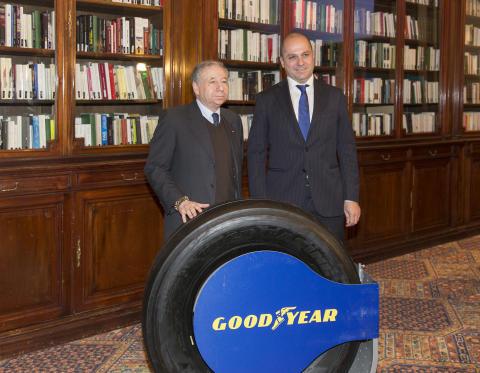 Goodyear ingår däckavtal för FIA-lastbilsracing