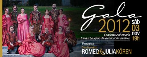 Romeo & Julia Kören ger en Galaföreställning i Frutillar, Chile