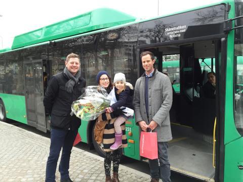 40 miljoner - rekordmånga resor på Malmö stadsbussar 2015