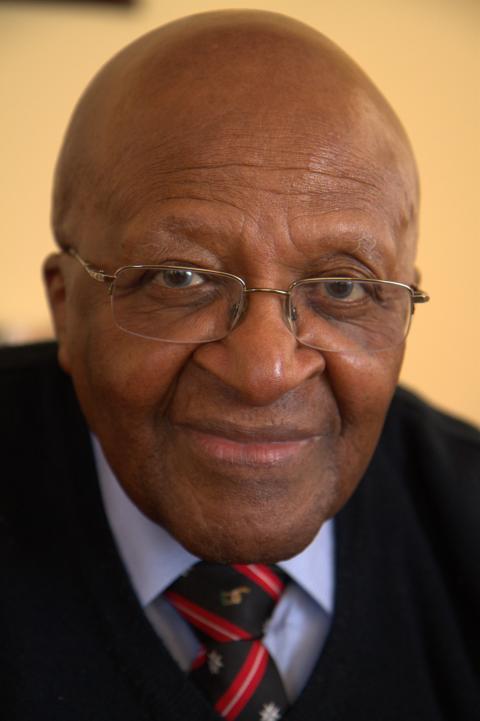 Desmond M. Tutu.