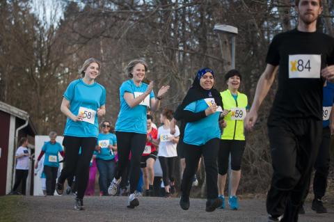 """Hungerprojektet och Rotaract tar täten för förändring i motionsloppet """"Running for Change"""""""