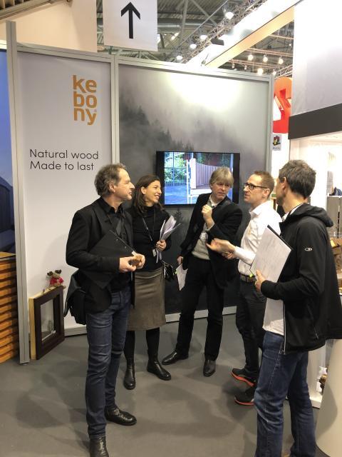 BAU 2019: Kebony gewinnt Innovationspreis