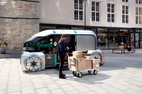 Renault EZ-PRO: Robotiserade stadsleveranser