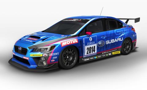 Nya Subaru WRX STI utmanar på Nürburgring