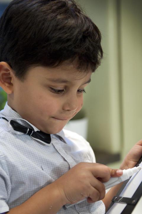 Minikockarna: Luca (4 år), hovmästare
