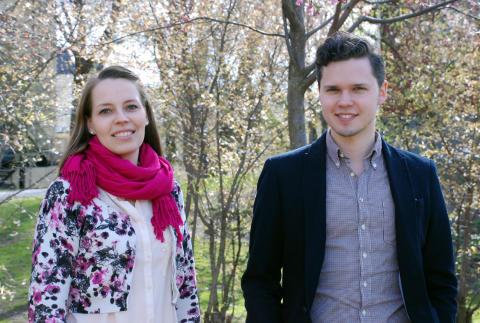 Ruut Kiiski och Andreas Eriksson i examenskonsert med Norrköpings Symfoniorkester
