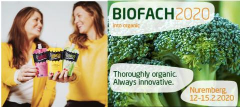 Dejunked exhibits at BIOFACH organic fair in Germany
