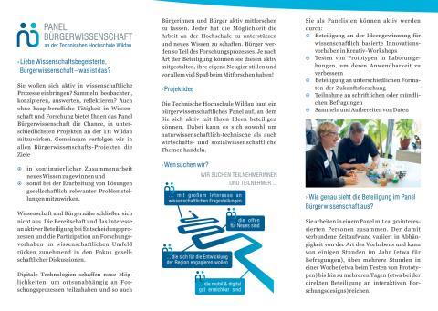 """""""Bürgerpanel"""" ermöglicht ab 2018 aktive Mitwirkung von Jung bis Alt an Wissenschaft und Forschung"""