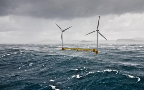 RES assists floating wind farm to hit first milestone