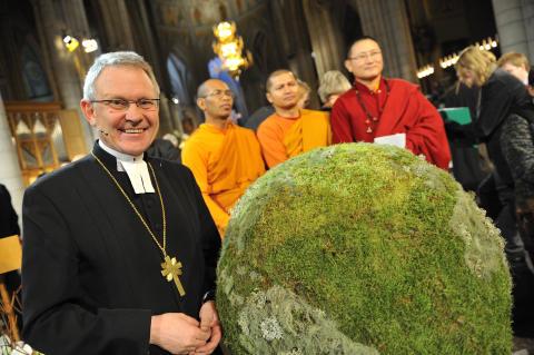 Religiösa ledare samlas i samband med FN:s klimatmöte