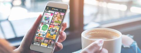 Studie: Warum Digitales Lesen das Leben verbessert / Readly veröffentlicht Digitalen Lesereport 2018