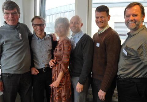 DiVA hadde stormøte med medlemmer i Norconsults hovedkontor.