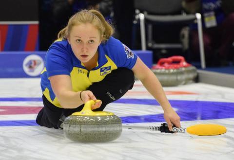 Jennie Wåhlin - curling