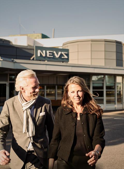 Charlotte Eisner och Jonas Hernqvist
