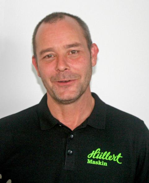 Tord Fredriksson ansvarar från och med den 2 dec -2013 för Merlo i Stockholmsområdet.