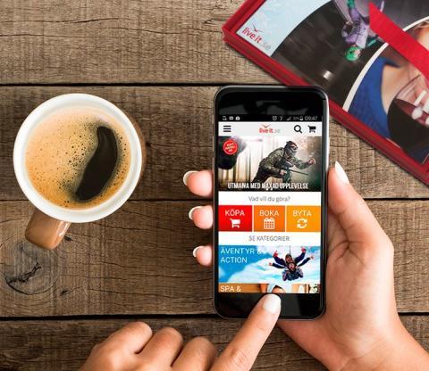 Live it lanserar ny upplevelse på mobilen