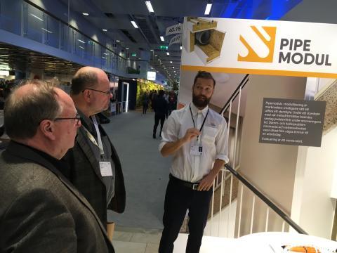 """Pipemodul presenterade modulstambyte: """"Nordbygg blev avstamp för nya affärer och expansion i Sverige"""""""