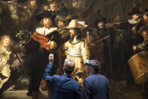 AkzoNobel samarbetar med holländska Rijksmuseum i restaureringen av Rembrandts Nattvakten