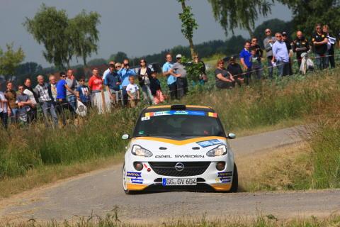 Finalen i Junior-EM i rally: Stora vinstchanser för Opel