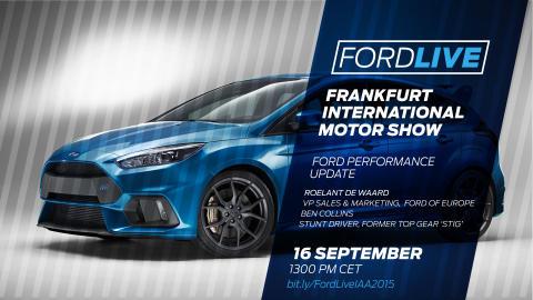 Ford Focus RS til kr. 710 000, går 0 til 100 km/t på 4,7 sekunder og har 266 km/t i toppfart