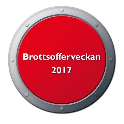 Inbjudan till Nationella Brottsofferveckan 2017 - påminnelse